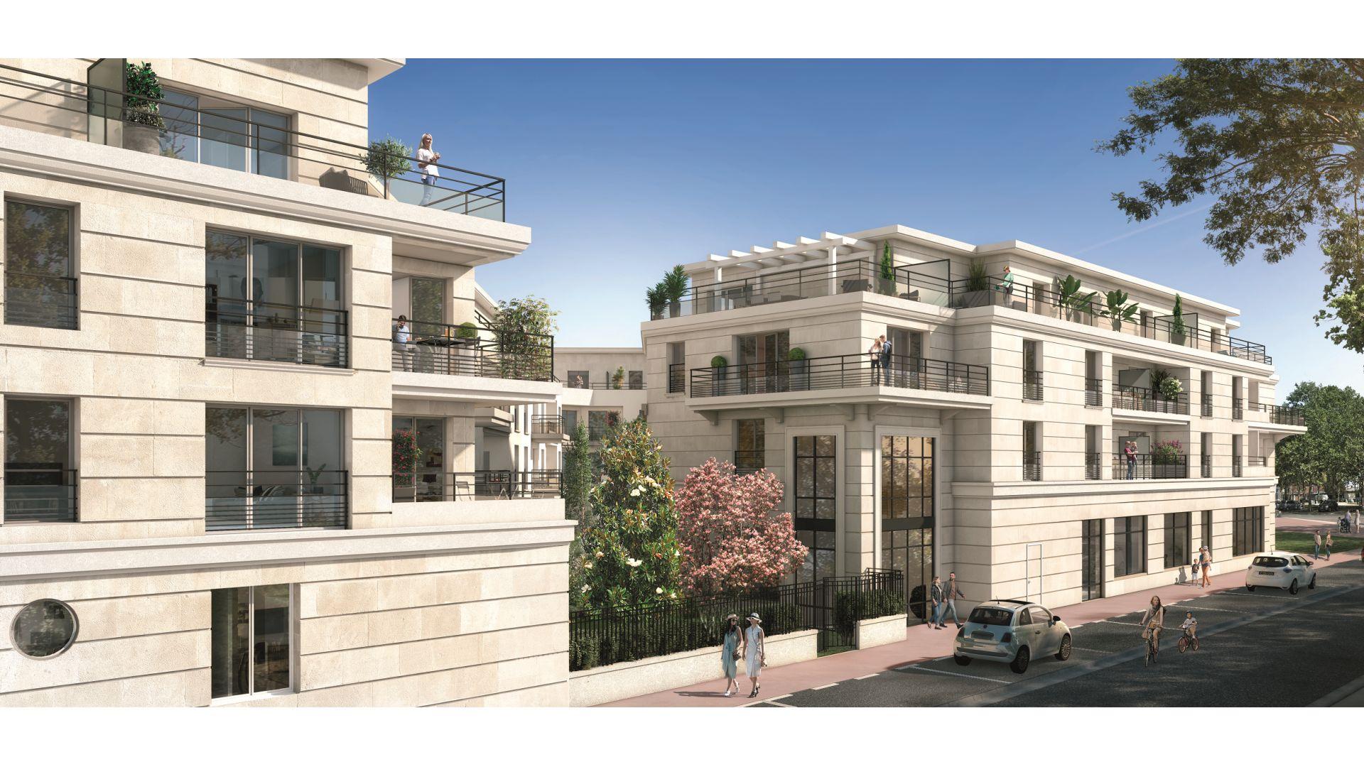 Greencity Immobilier - Square Kennedy - achat appartements du T1 bis au T5 duplex - Saint-Maur des Fossés 94100