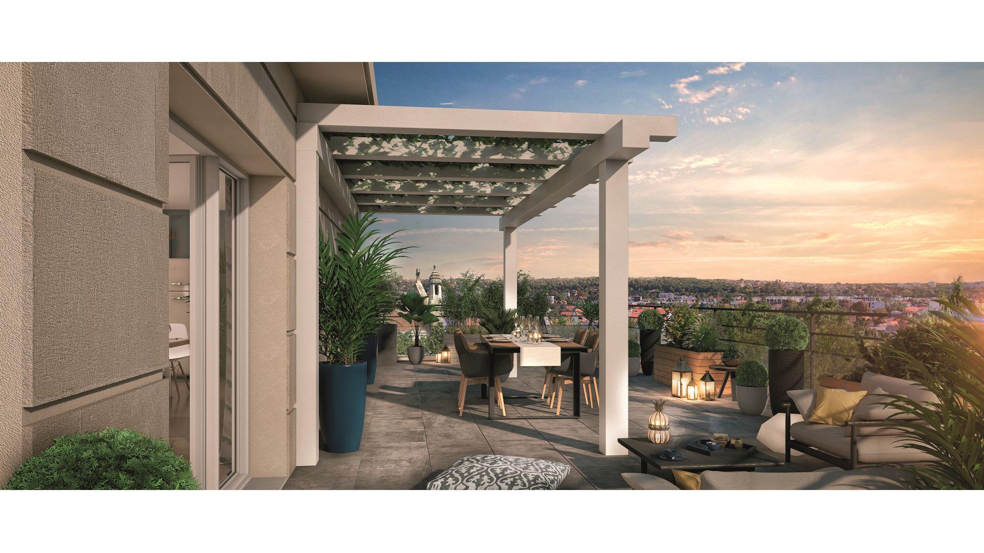 Greencity Immobilier - Square Kennedy - achat appartements du T1 bis au T5 duplex - Saint-Maur des Fossés 94100 - vue intérieure