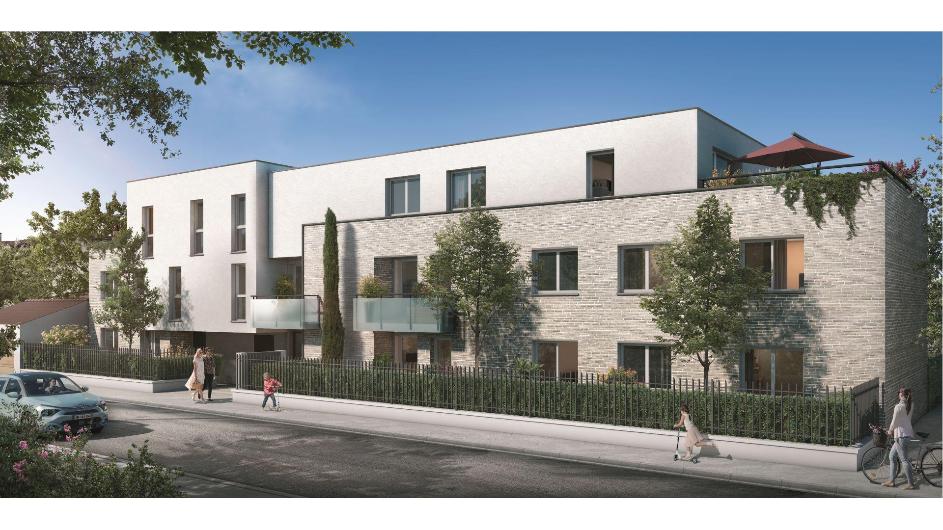 Greencity Immobilier - Résidence Sweet Garden - 31200 Toulouse Bonnefoy - appartements et villas du T2 au T4