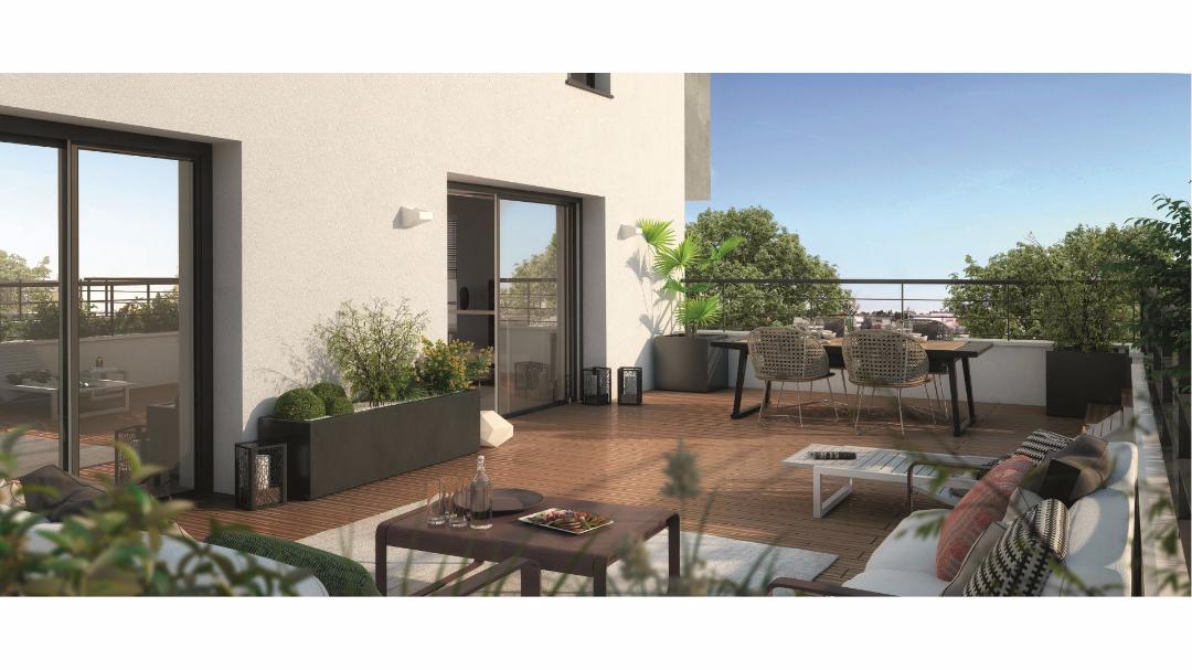Greencity Immobilier - Villa Alexia - Toulouse - 31000-terrasse