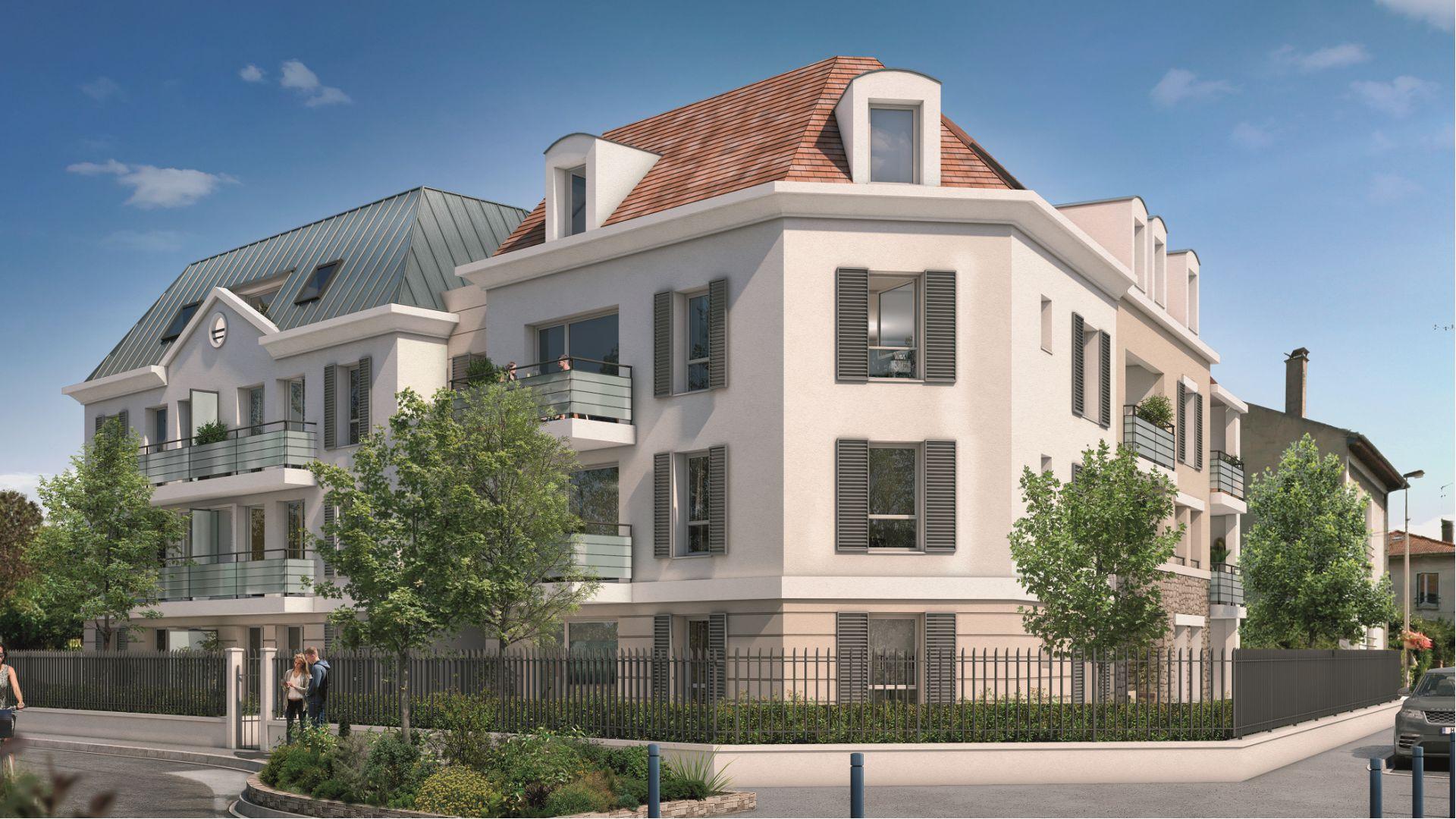 GreenCity immobilier - achat appartement  neuf - Villemomble - 93250 - Villa Castille