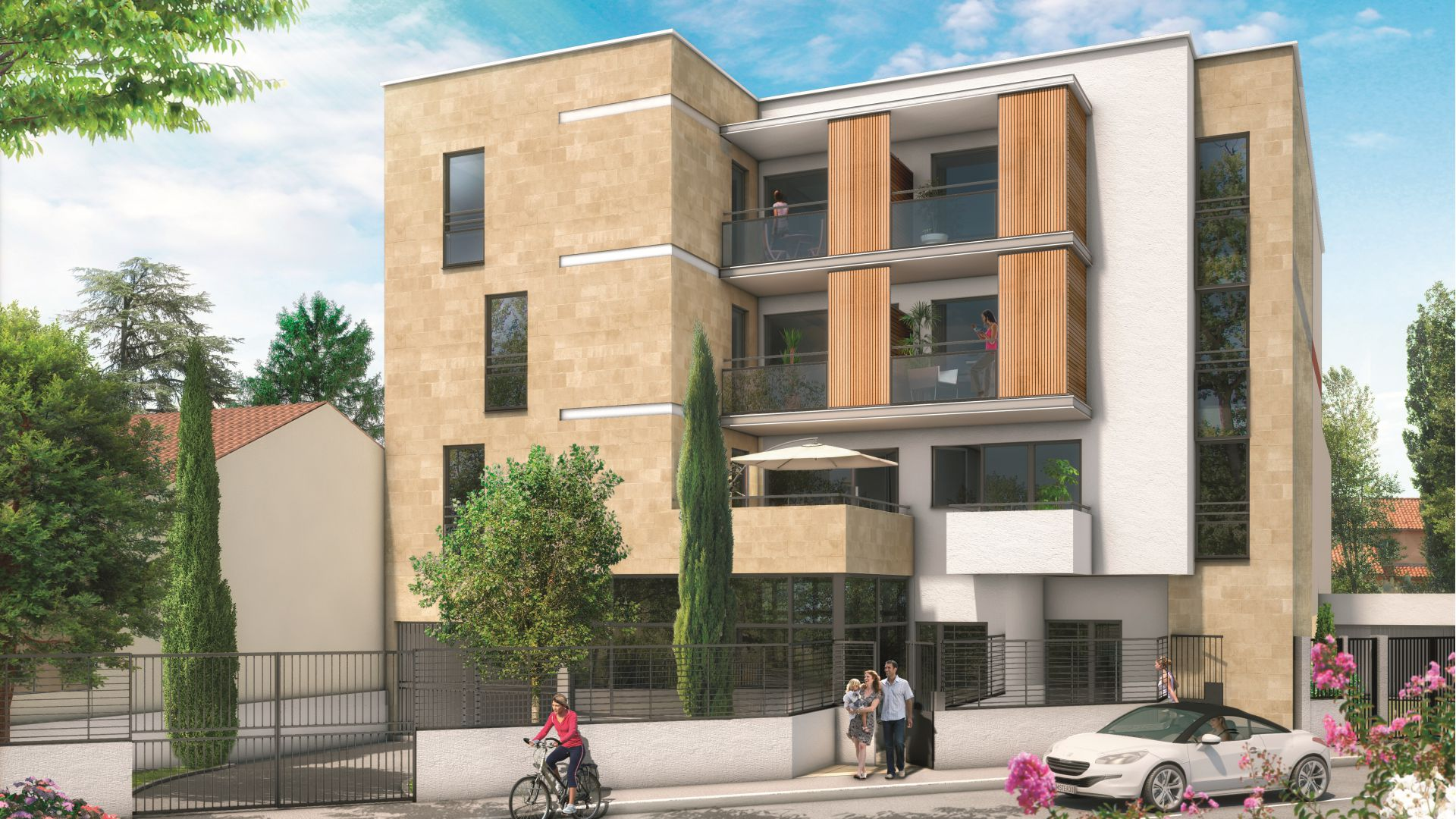 villa colombes green city immobilier. Black Bedroom Furniture Sets. Home Design Ideas