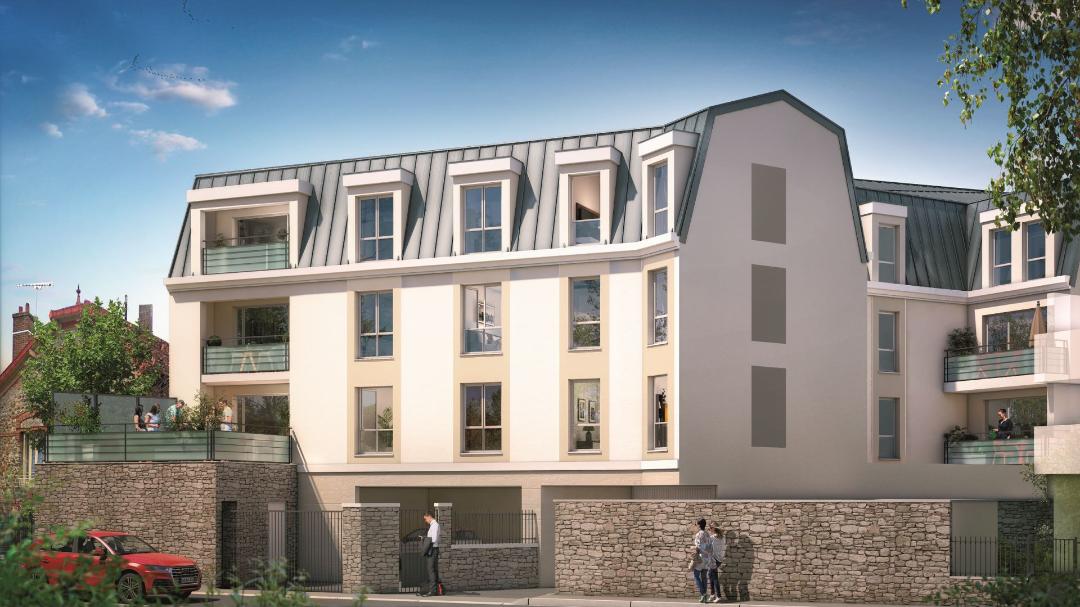 GreenCity Immobilier - Villa Grés - Gretz Armainvilliers - appartements du T1 bis au T3 - vue intérieure