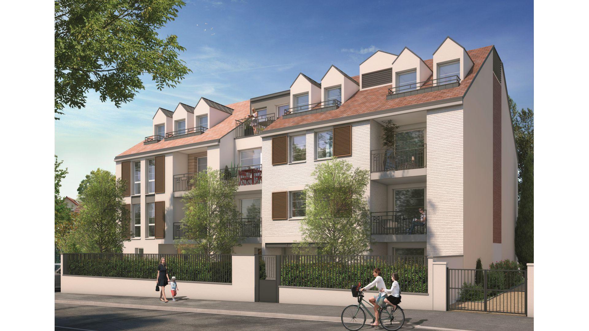 GreenCity immobilier - Villemomble 93250 - Villa Offenbach - Appartements neufs du T1 bis au T4