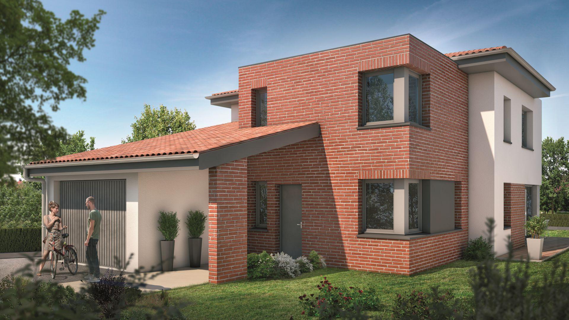 Greencity Immobilier - Villas Valéria - 31320 Auzeville - Villas 1 - neuves T6 - appartements neufs T2-T3