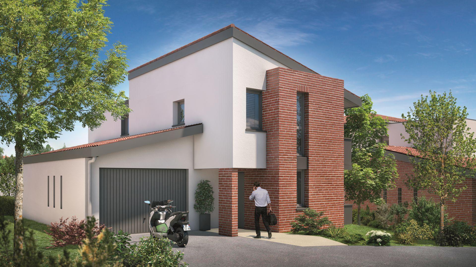 Greencity Immobilier - Villas Valéria - 31320 Auzeville - Villas 5 neuves T6 - appartements neufs T2-T3
