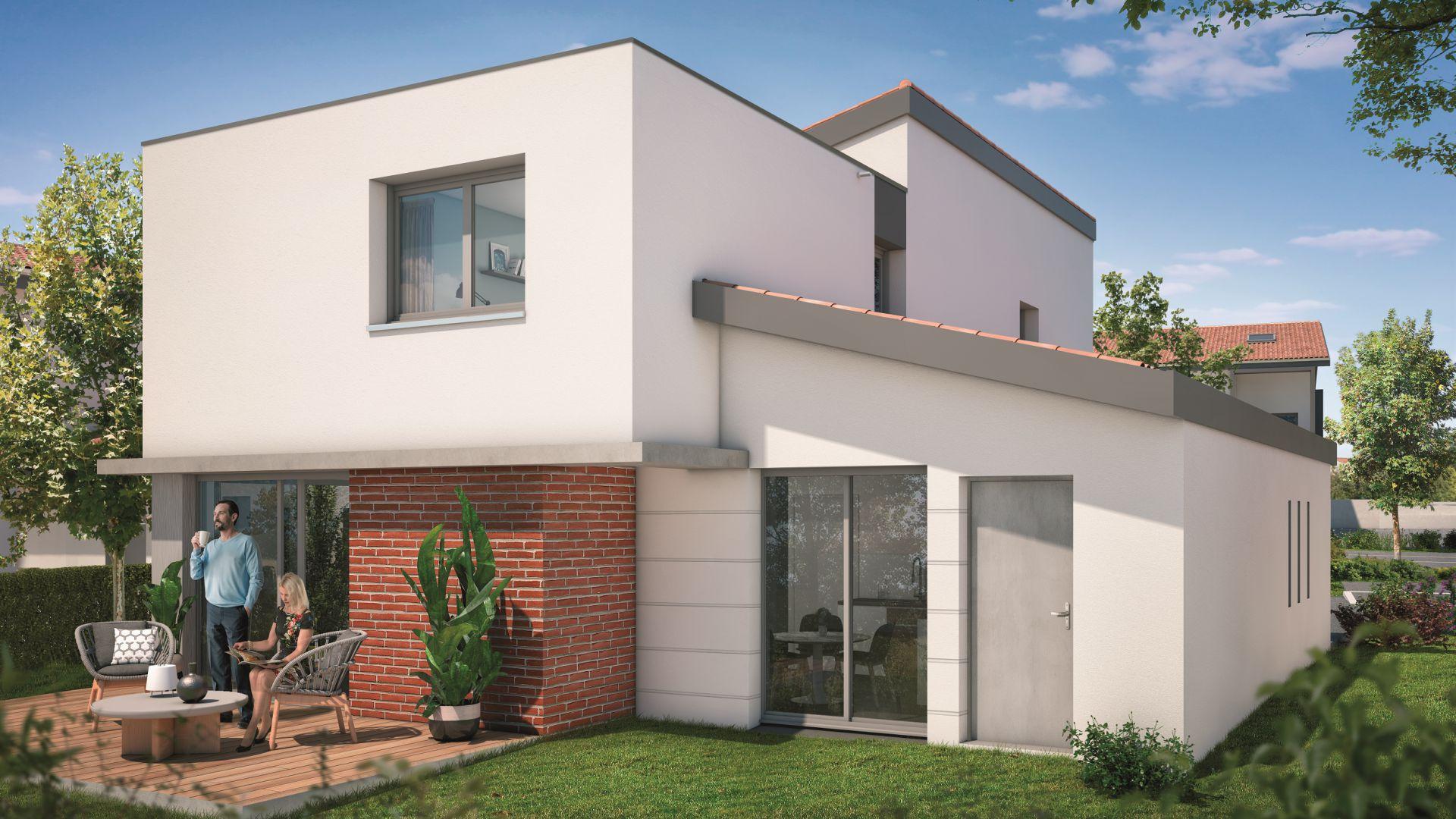 Greencity Immobilier - Villas Valéria - 31320 Auzeville - Villas 3 neuves T6 - appartements neufs T2-T3