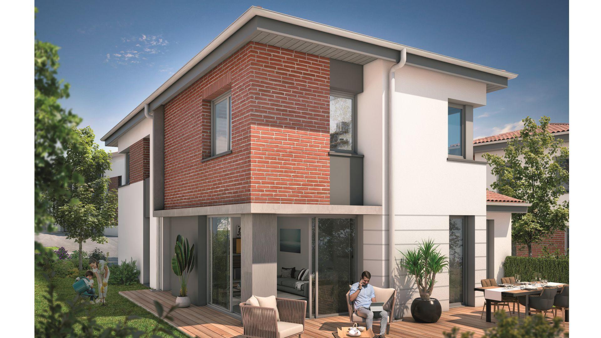 Greencity Immobilier - Villas Valéria   - 31320 Auzeville - Villas 2 neuves T6 - appartements neufs T2-T3